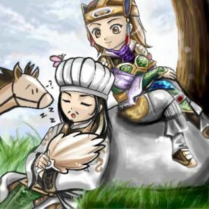 zhuge liang and yue ying bravo ! thumbs up!