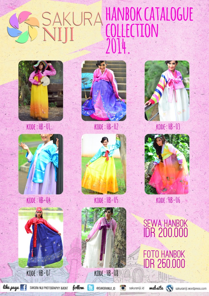 Katalog Hanbok Sakura Niji