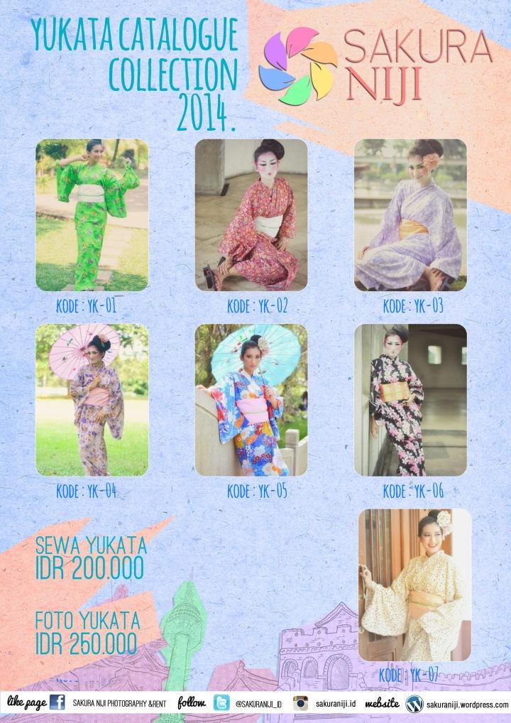Katalog Yukata Sakura Niji