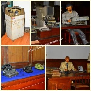 Telepon dan Mesin Ketik