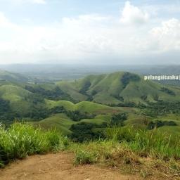 Meninggalkan Jejak Pelangi di Bukit Lintang Pelaihari Kalsel
