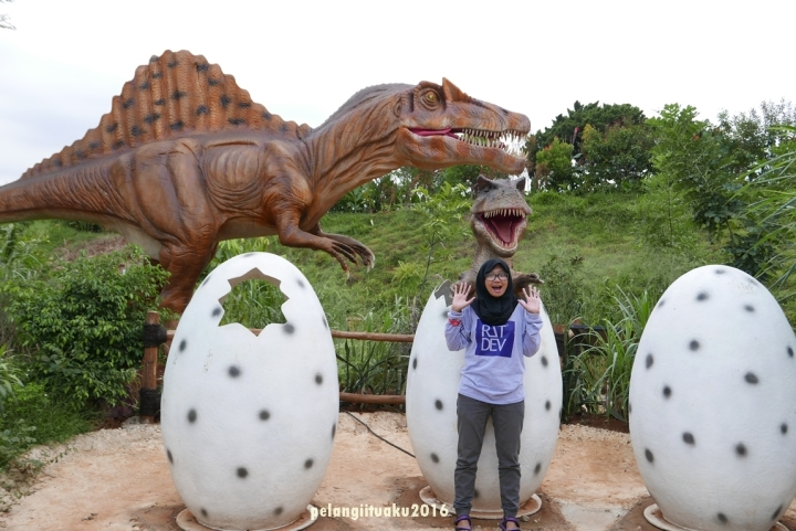 Nostalgia Bareng Dinosaurus diTMII