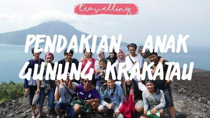 Pendakian Dadakan ke Anak GunungKrakatau